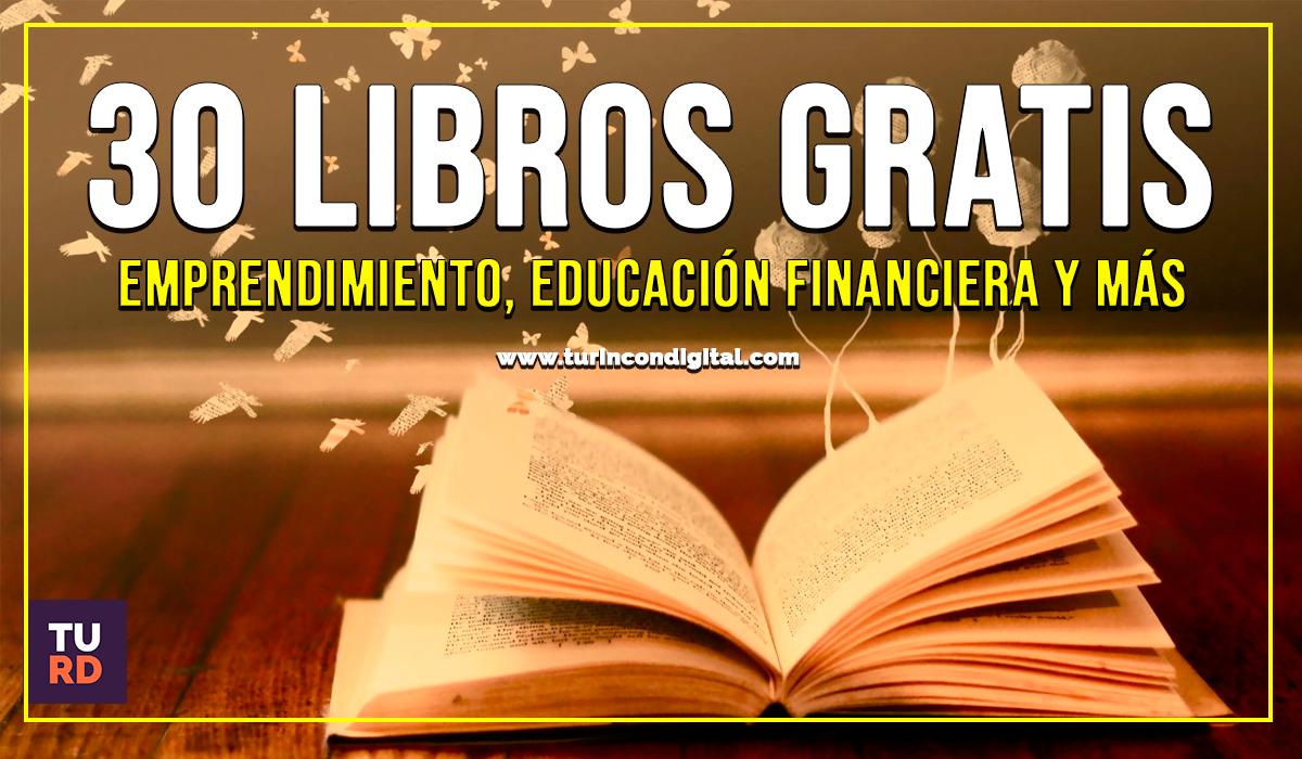 �Kit 30 LIBROS GRATIS SOBRE EMPRENDIMIENTO Y NEGOCIOS