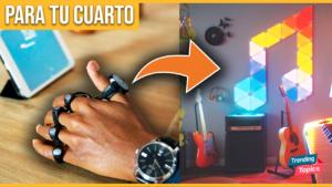 ⭐ 9 Fantásticos Gadgets para tu cuarto | Baratos 2021