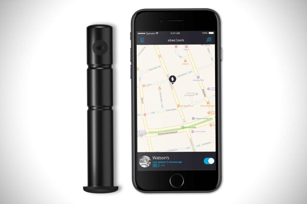 los mejores accesorios útiles para bicicletas : GPS para bicicleta anti robo