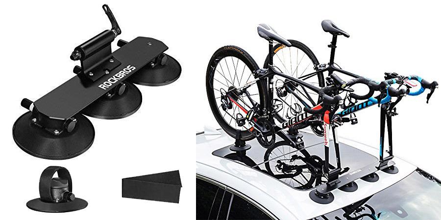 los mejores accesorios útiles para bicicletas : portabicicletas rock bros, soporte para bicicletas para carro