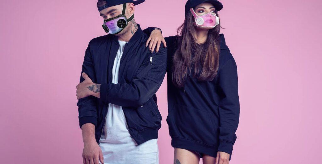 Civility Mask: Tapabocas con diseño