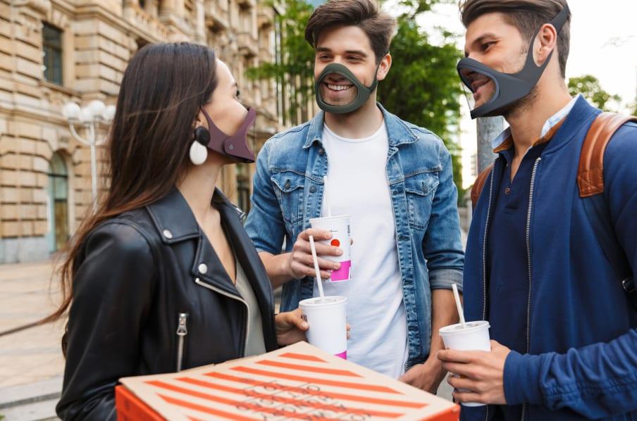 coronavirus: cliu mask el tapabocas más innovador y futurista del mundo