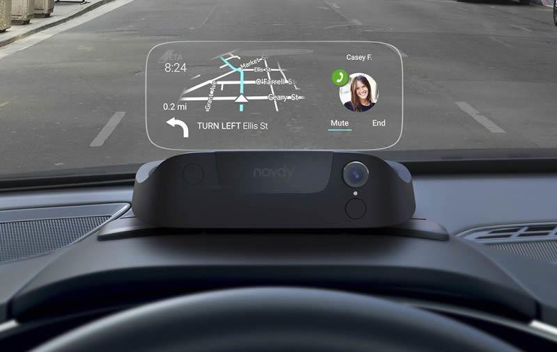 Accesorios para autos - Navdy: Pantalla digital para autos