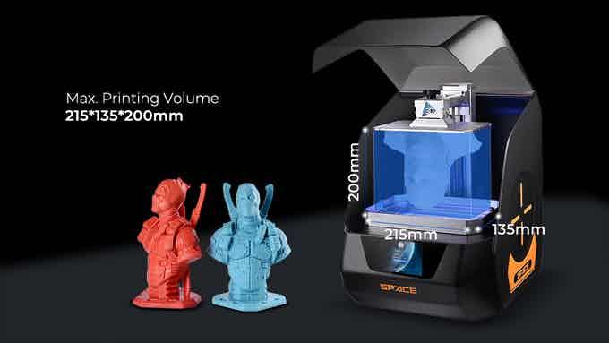 Los Gadgets más novedosos y originales de Internet (Versión 2020) Gadget Impresora SPACE 3D