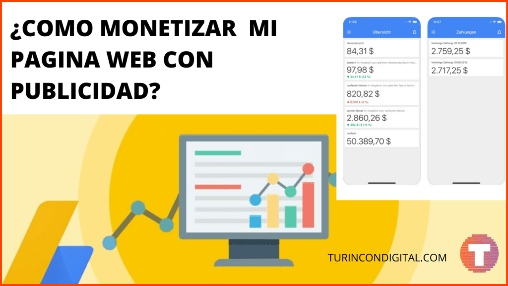 ¿Cómo monetizar mi sitio web con publicidad?
