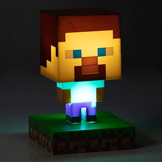 Regalo Minecraft Steve Icon Light