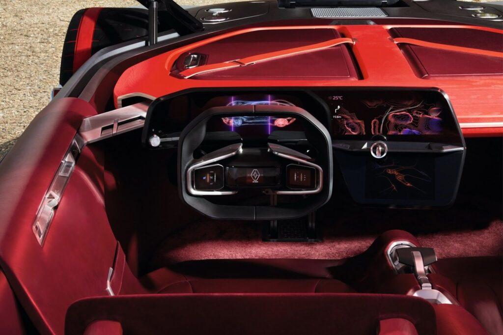 Cabina: Renault Trazer por dentro